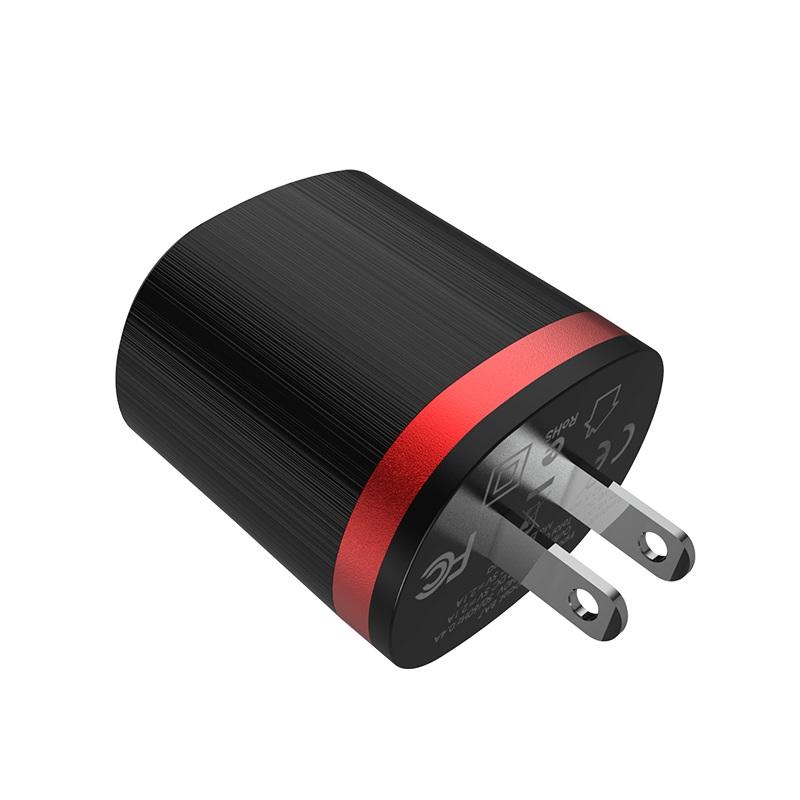 borofone ba7 flashplug double usb port charger us adapter