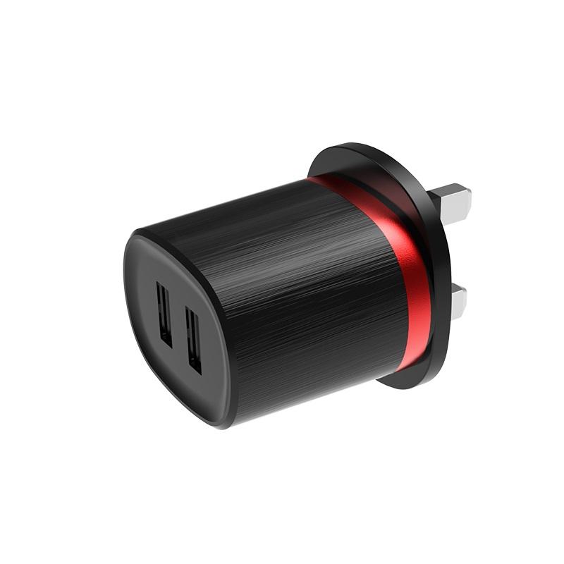 borofone ba7b flashplug double usb port charger uk ports