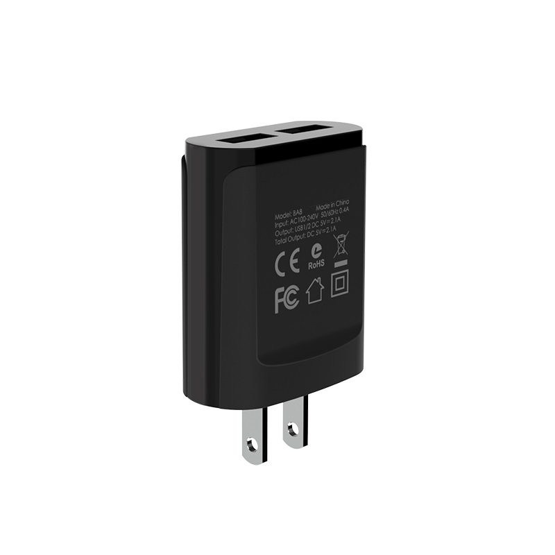 borofone ba8 leplug double usb port charger us ports