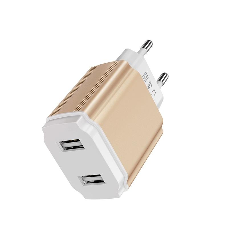 borofone ba9a freeplug dual usb port charger eu ports