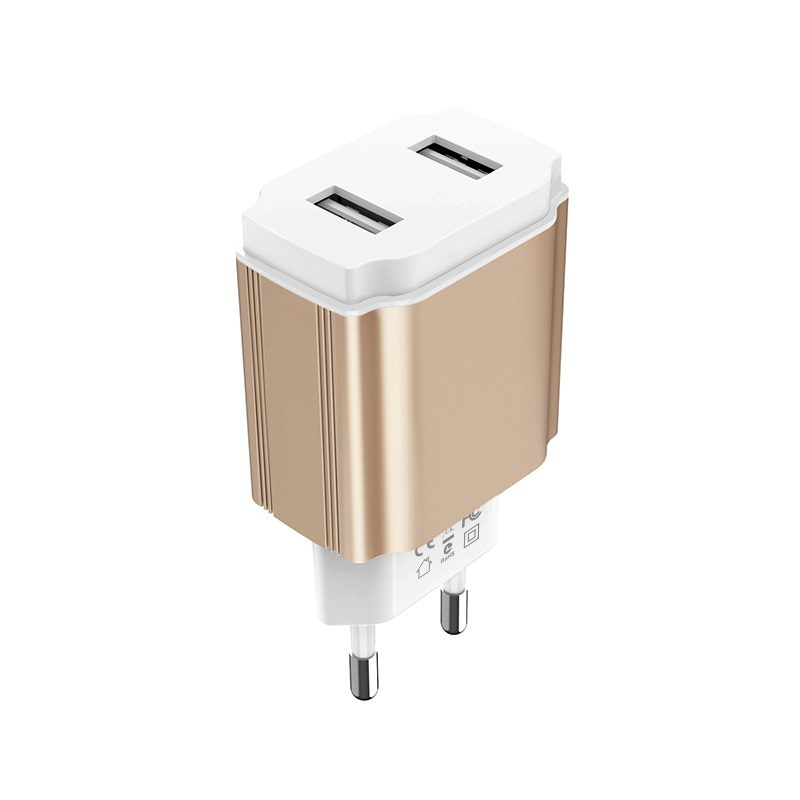 borofone ba9a freeplug dual usb port charger eu safe