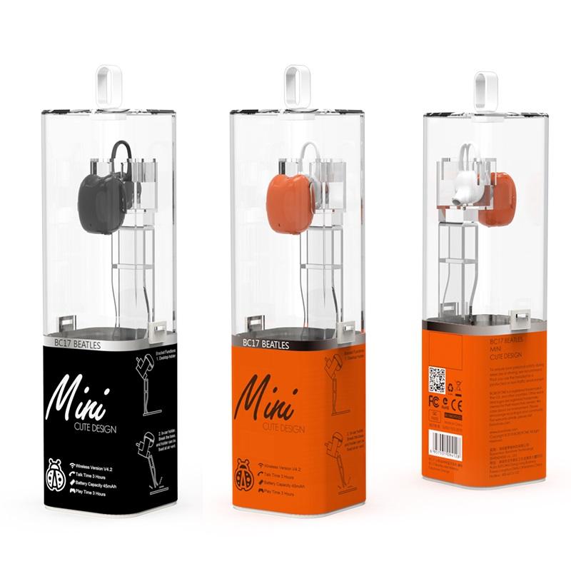 borofone bc17 beatles mini wireless earphone package