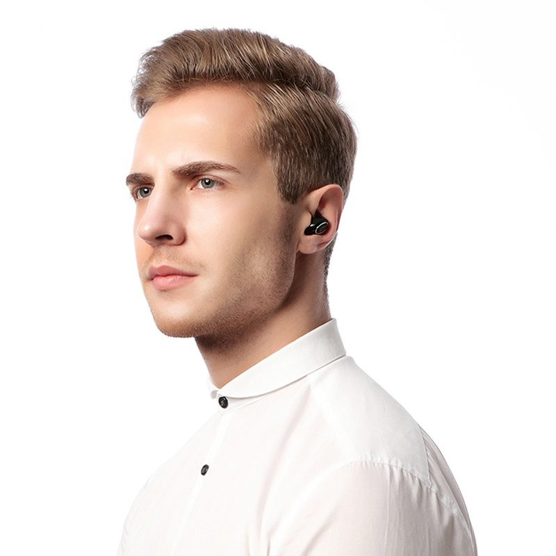 borofone bc3 well mini wireless earphone interior black