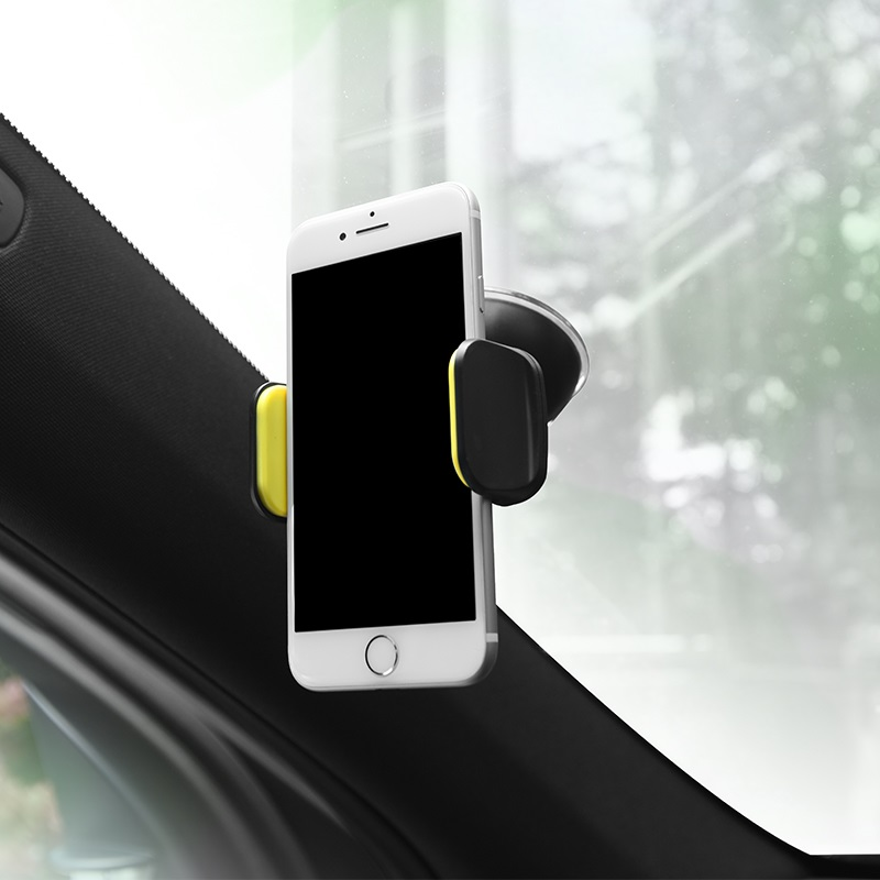 borofone bh4 joydock suction cup in car phone holder overview