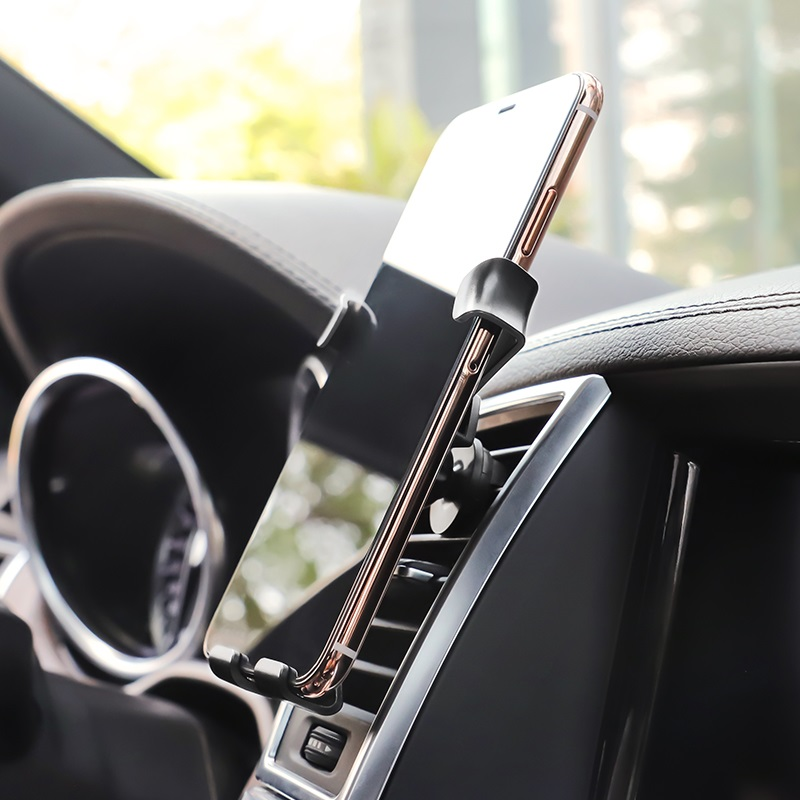 borofone bh9 gravity in car phone holder durable
