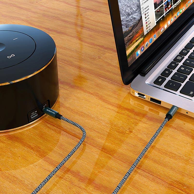 borofone bl3 audiolink aux audio cable speaker