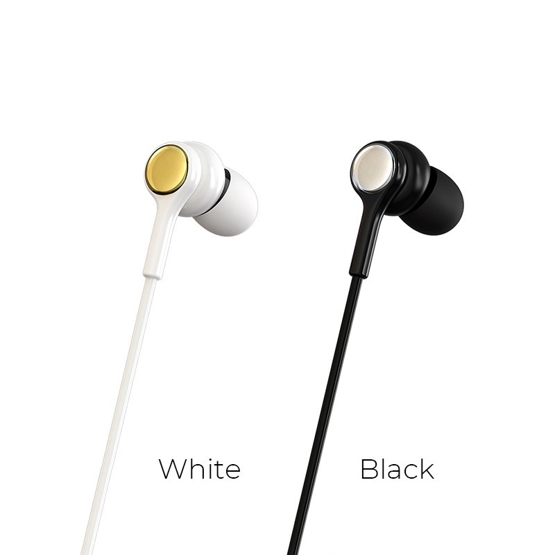 borofone bm12 lightmelody universal wired earphones colors