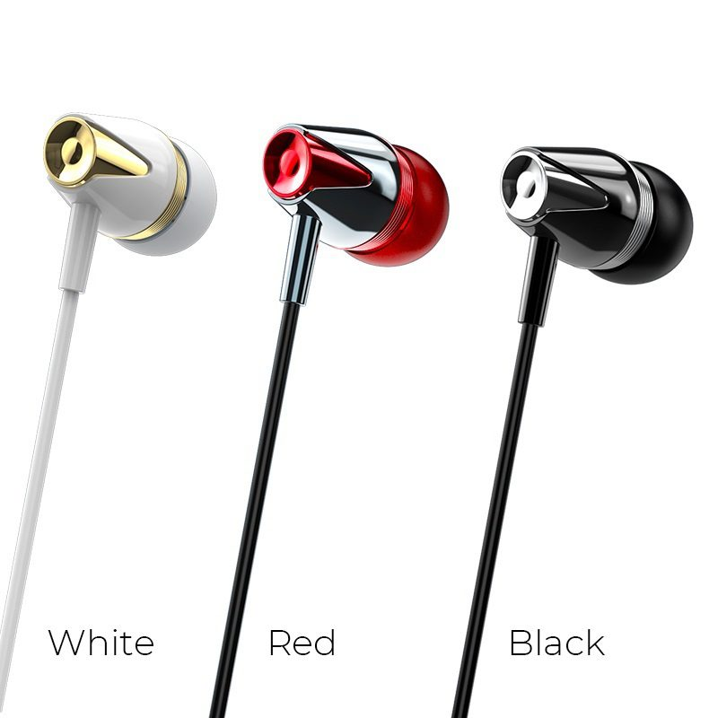 borofone bm13 coolmelody universal wired earphones colors