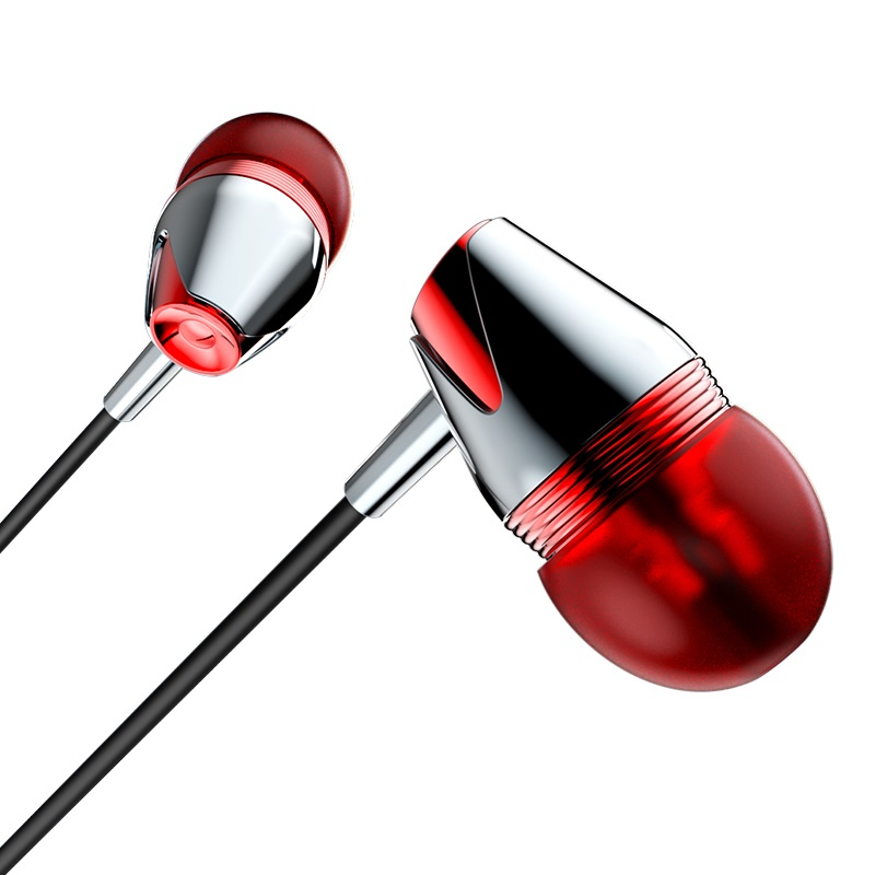 borofone bm13 coolmelody universal wired earphones in ear
