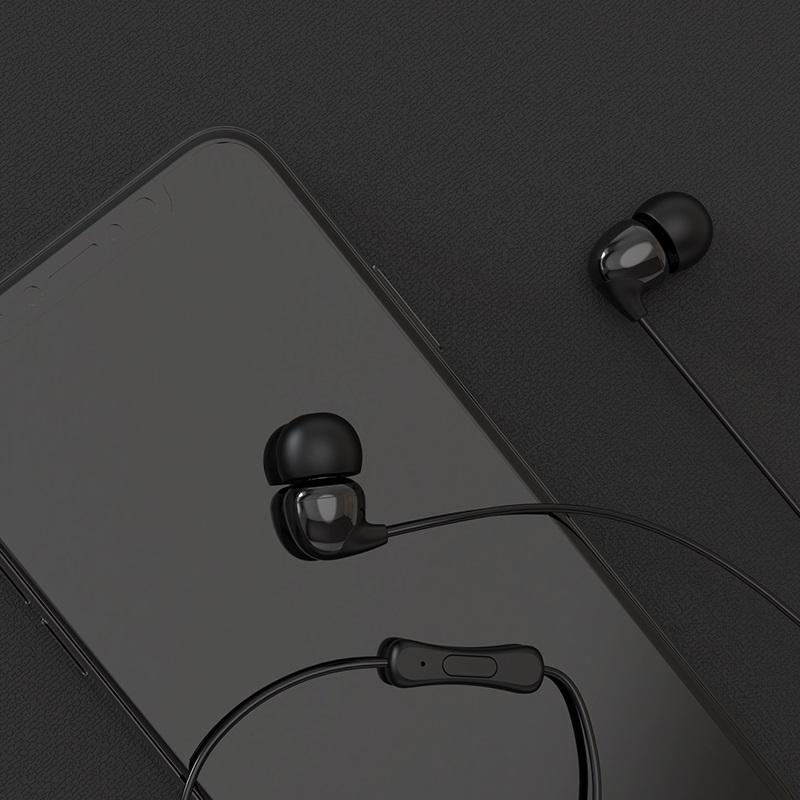 borofone bm17 inmelody проводные наушники с пультом управления телефон