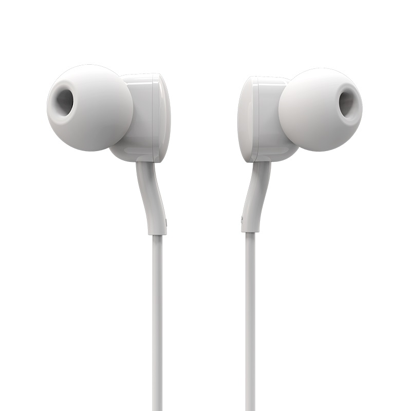 borofone bm18 qmelody in line control wired earphones front