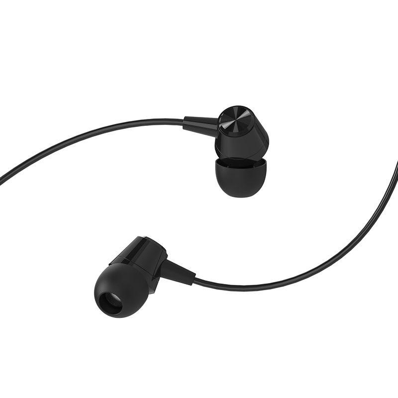 borofone bm20 dasmelody in line control wired earphones ear tips