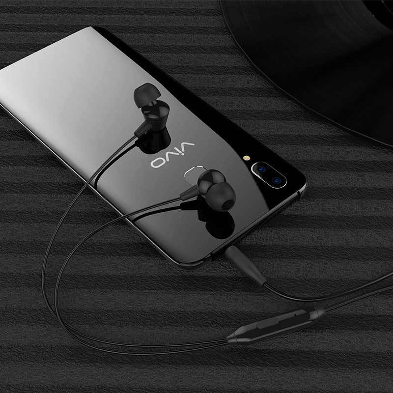 borofone bm20 dasmelody in line control wired earphones phone