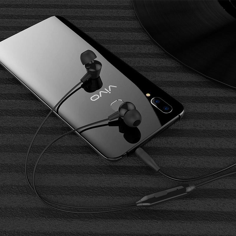 borofone bm20 dasmelody in line control wired earphones phone
