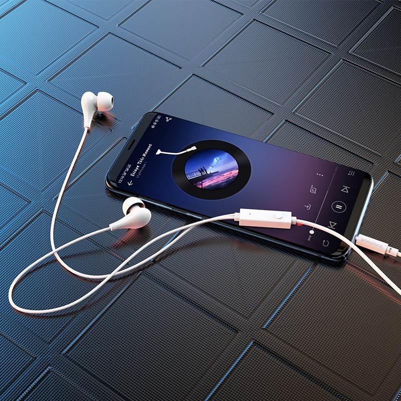 borofone bm24 milo универсальные наушники с микрофоном интерьер