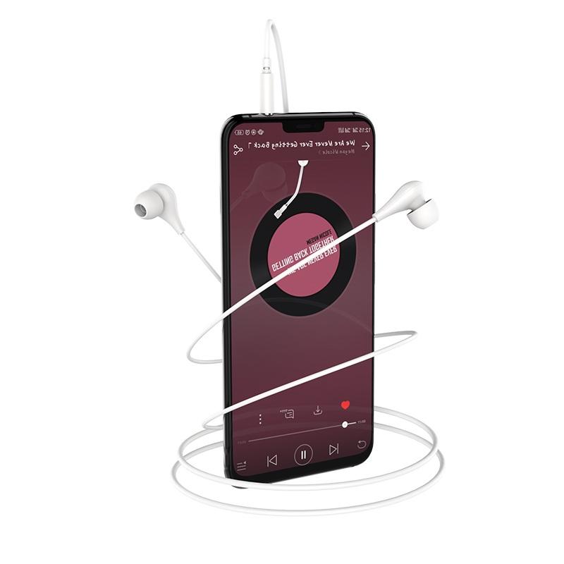 borofone bm24 milo универсальные наушники с микрофоном телефон