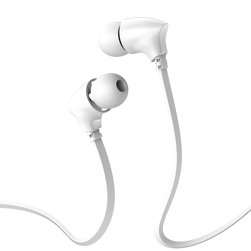 borofone bm26 rhythm universal earphones with mic ear tips