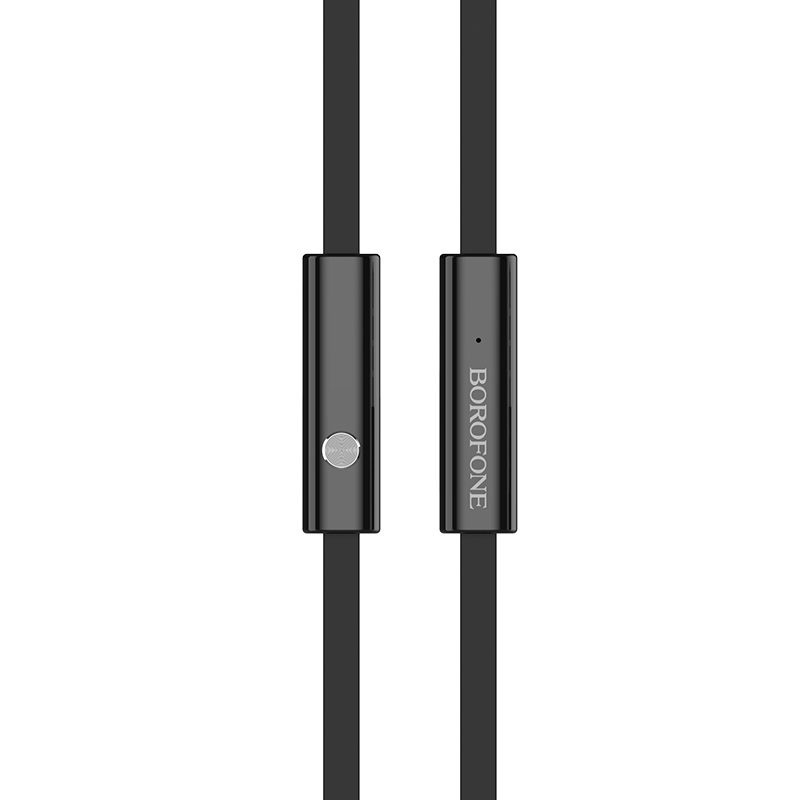 borofone bm26 rhythm universal earphones with mic inline control