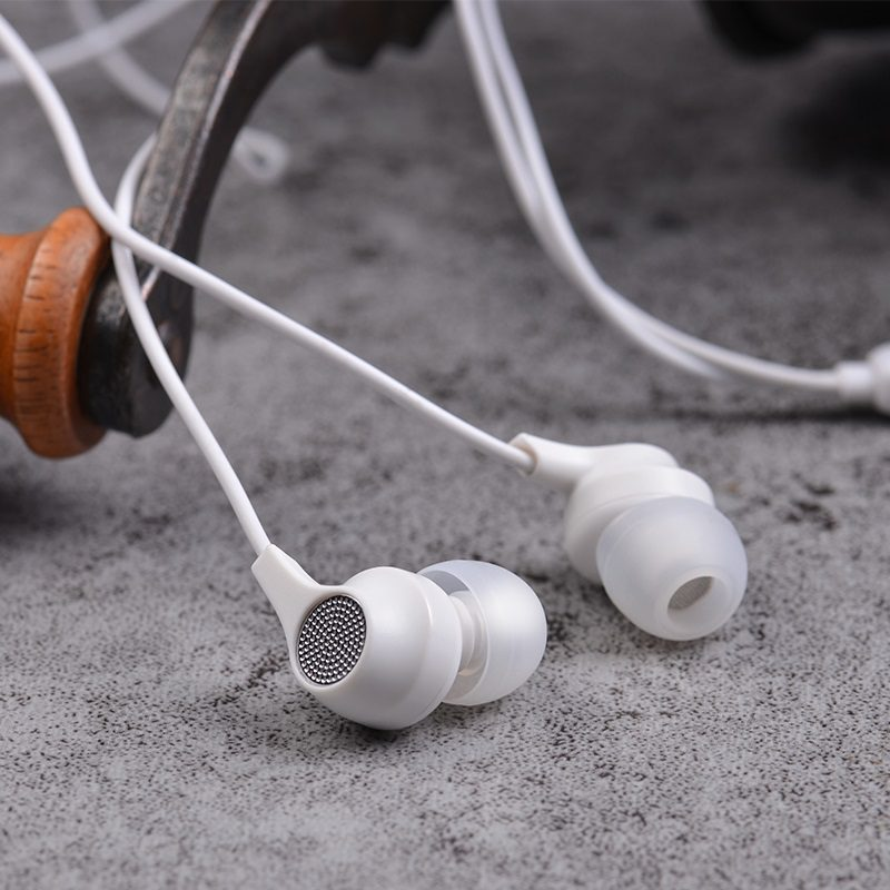 borofone bm28 tender sound universal earphones with mic interior white