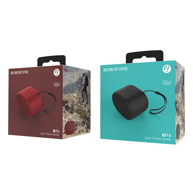 borofone bp4 enjoy sports wireless speaker packages