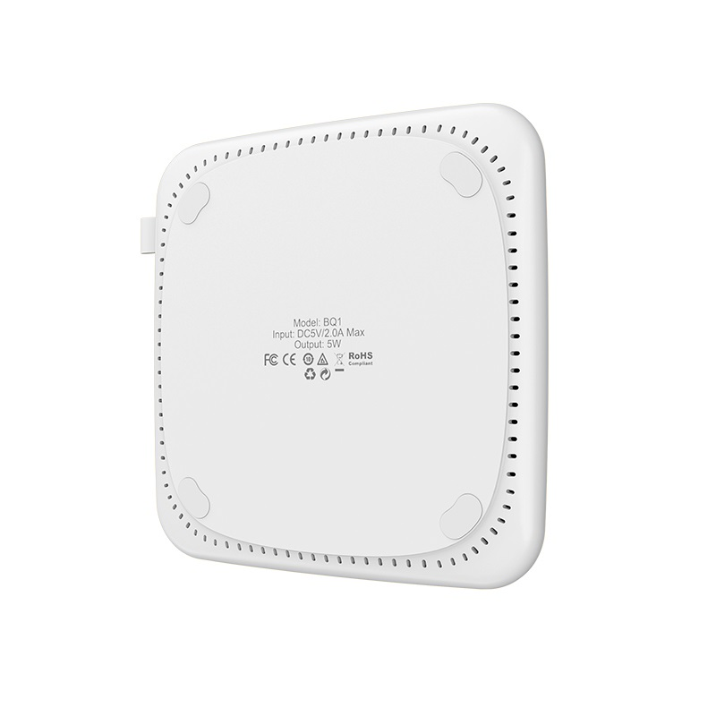 borofone bq1 airsense wireless charger 5w dissipation
