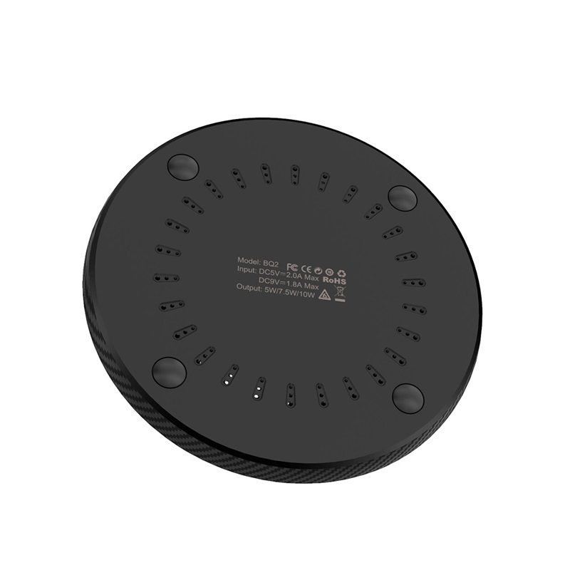 borofone bq2 airtouch wireless charger 10w dissipation