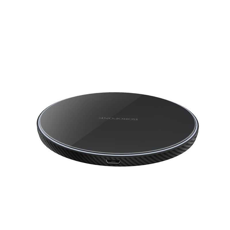 borofone bq2 airtouch wireless charger 10w logo