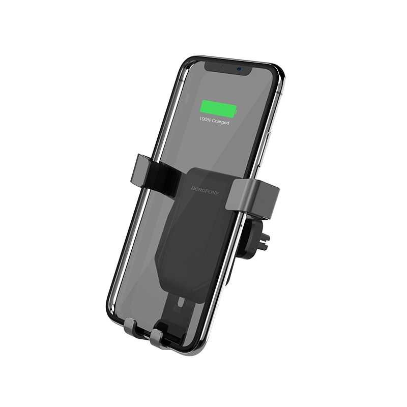 borofone bq4 airdock quick wireless charging car holder portable