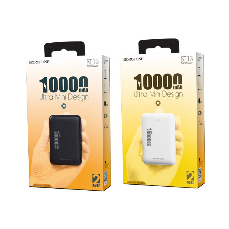 borofone bt13 minipower power bank 10000mah packages