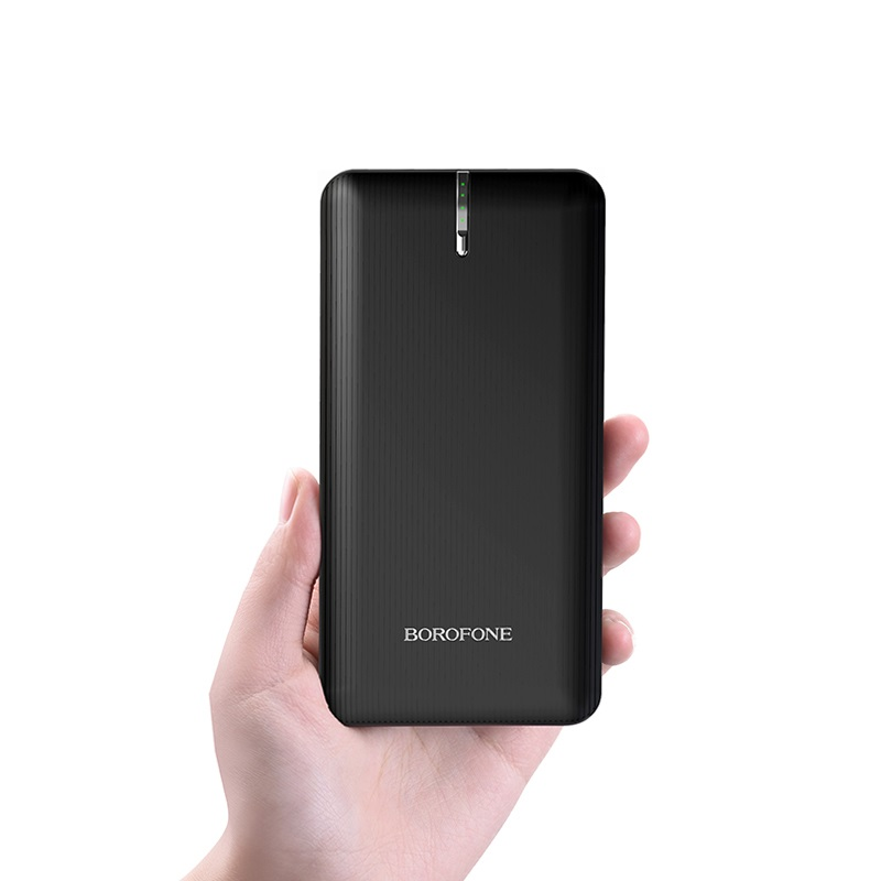 borofone bt18a prosperous mobile power bank 13000mah in hand