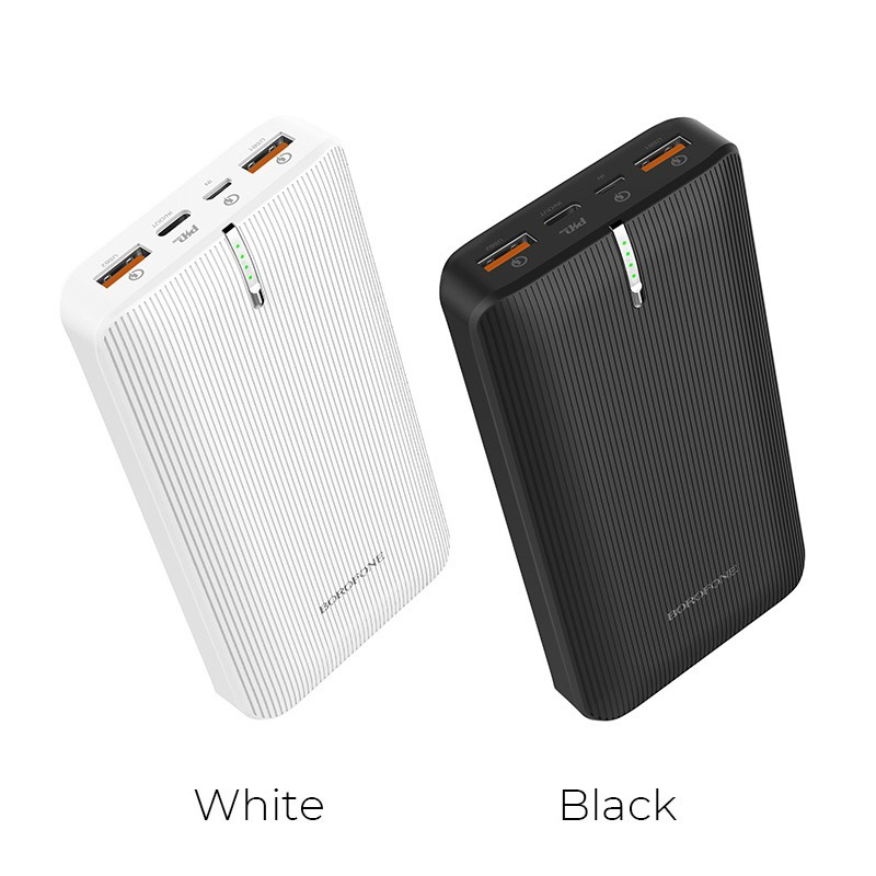 borofone bt18b prosperous mobile power bank 25000mah colors