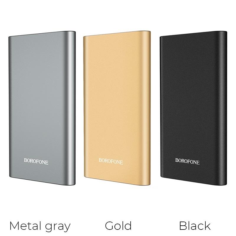 borofone bt19 universal mobile power bank 10000mah colors