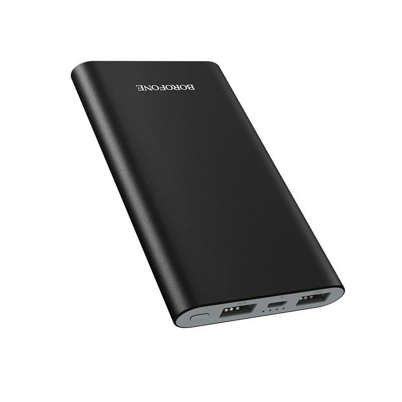 borofone bt19 universal mobile power bank 10000mah dual ports output