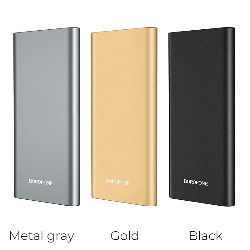 borofone bt19a universal mobile power bank 15000mah colors