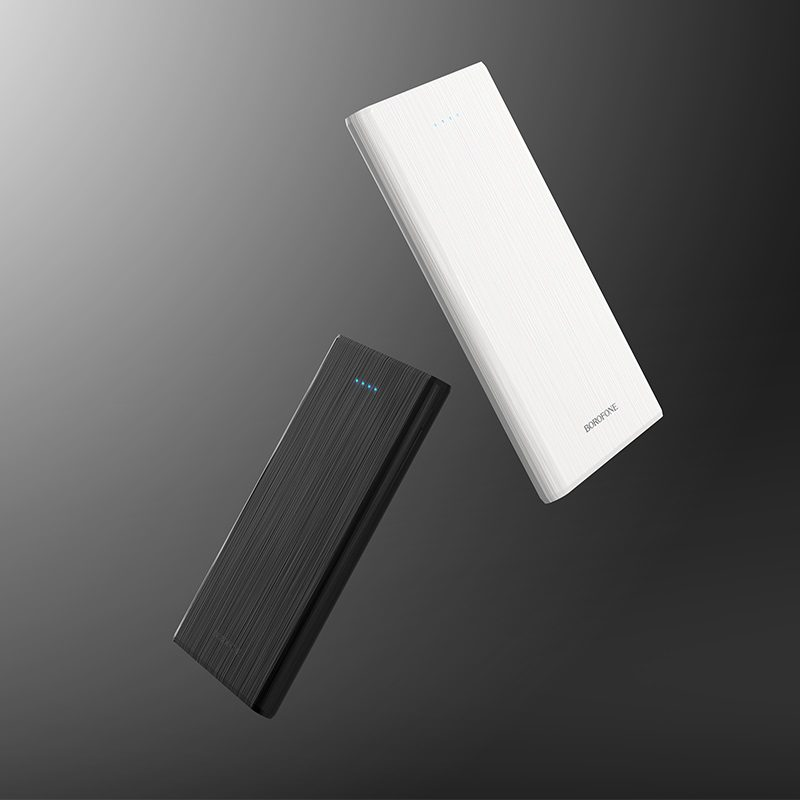 borofone bt2b fullpower power bank 5000mah black white