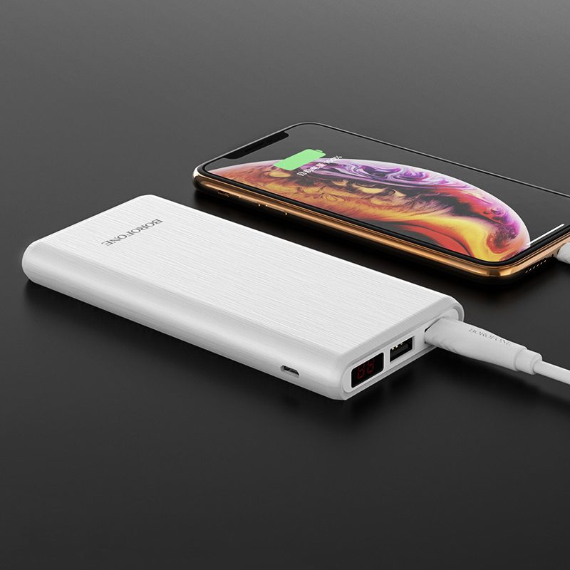 borofone bt2c fullpower mobile power bank 12000mah charging