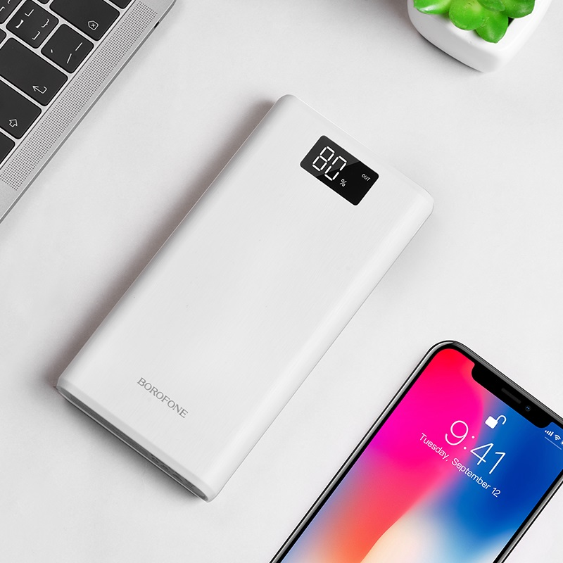 borofone bt2d fullpower power bank 30000mah interior