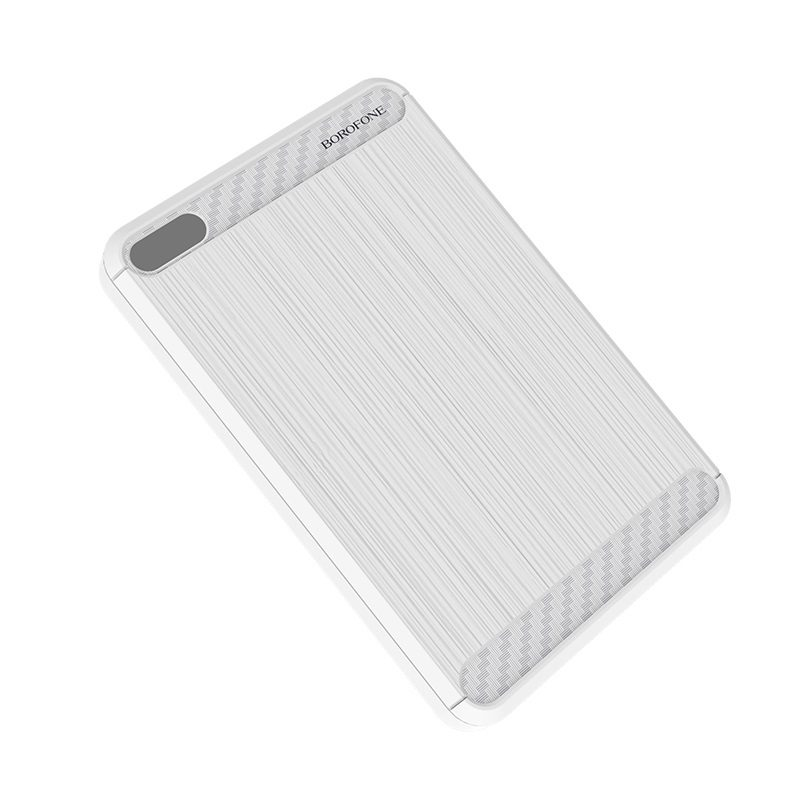 borofone bt6 xpower power bank 20000mah front white