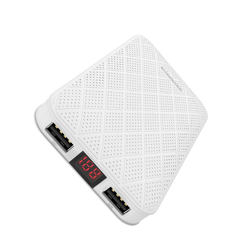 borofone bt8 maxpower power bank 10000mah display ports