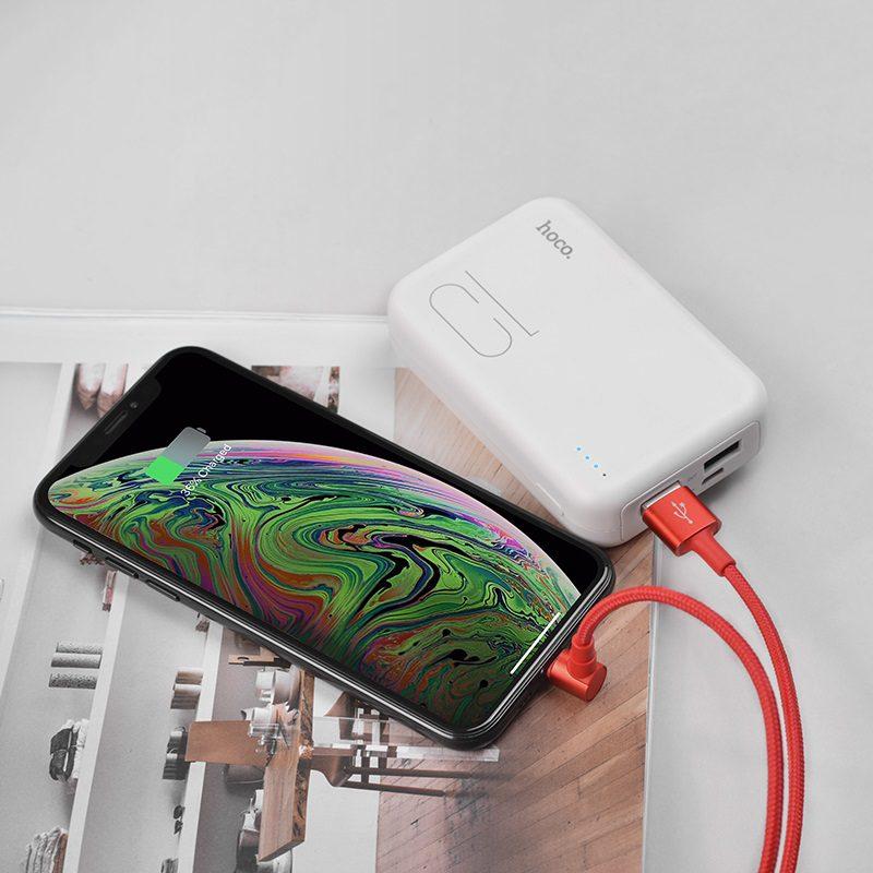 borofone bu6 bracket lightning charging data cable charger