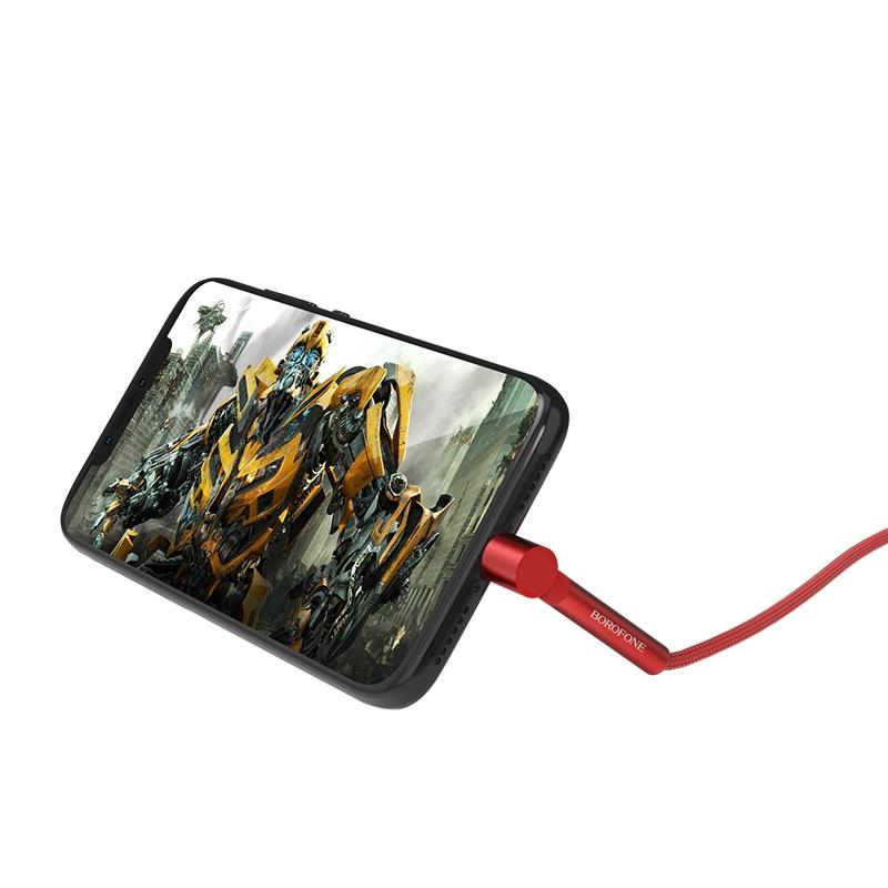 borofone bu6 bracket usb c charging data cable power
