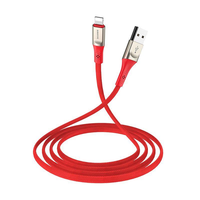 borofone bu7 superior lightning charging data cable flexible