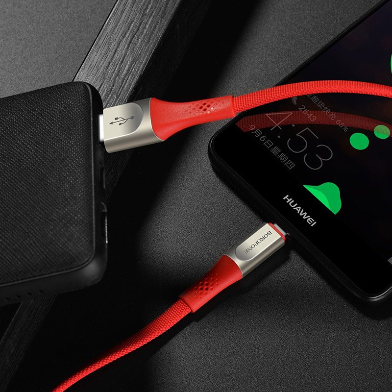 borofone bu7 superior usb c charging data cable charger