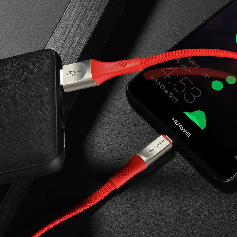 borofone bu7 superior usb c charging data cable charger