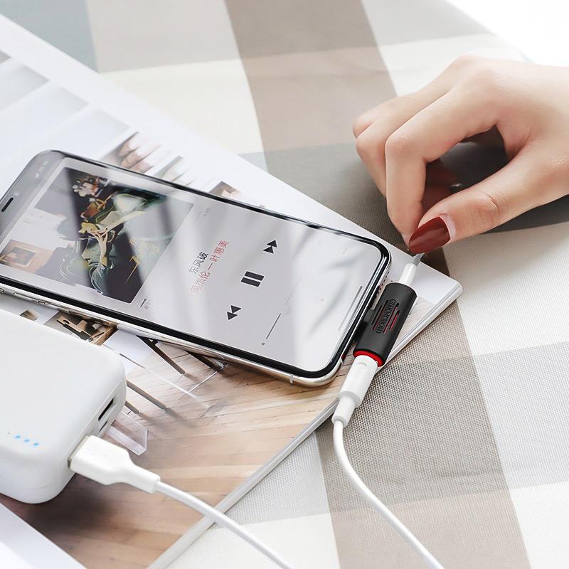 borofone bv7 light lightning digital 3 5mm audio converter phone