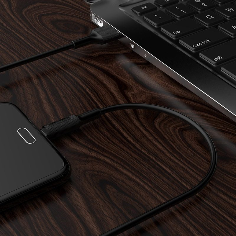 borofone bx1 ezsync micro usb charging data cable charger