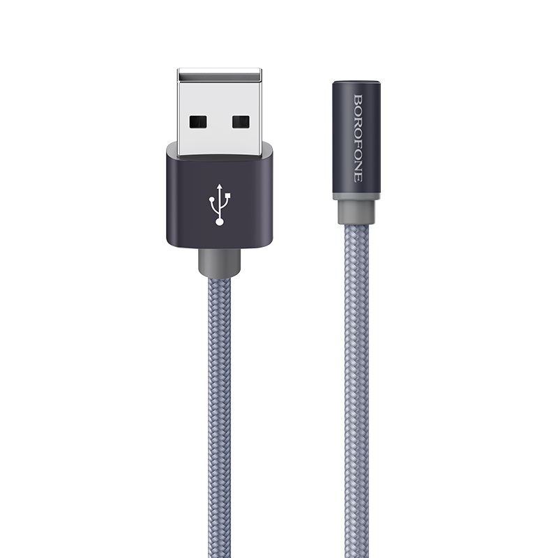 borofone bx12 freejet micro usb charging data cable durable