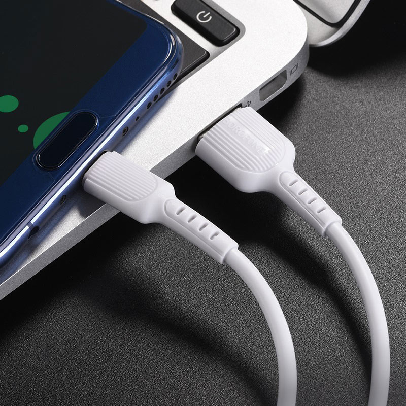 borofone bx16 easy type c usb charging data cable phone