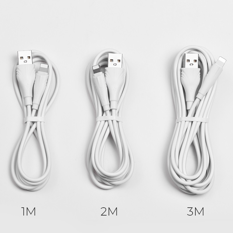 borofone bx18 optimal lightning usb charging data cable length