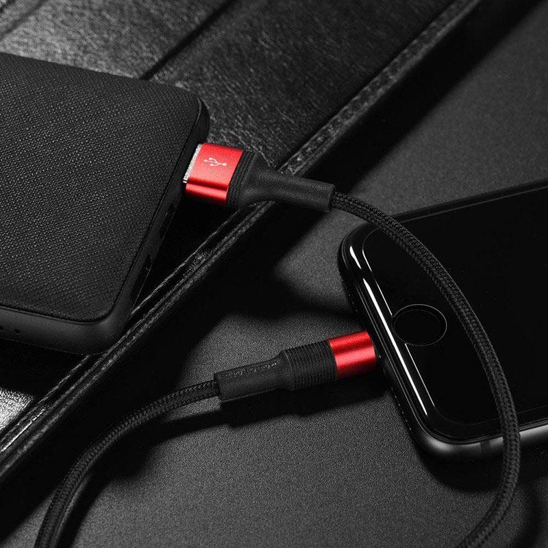 borofone bx2 powersync lightning usb charging data cable usb